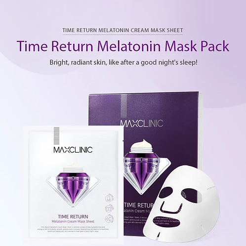 MAXCLINIC - Time Return Melatonin Cream Mask Set