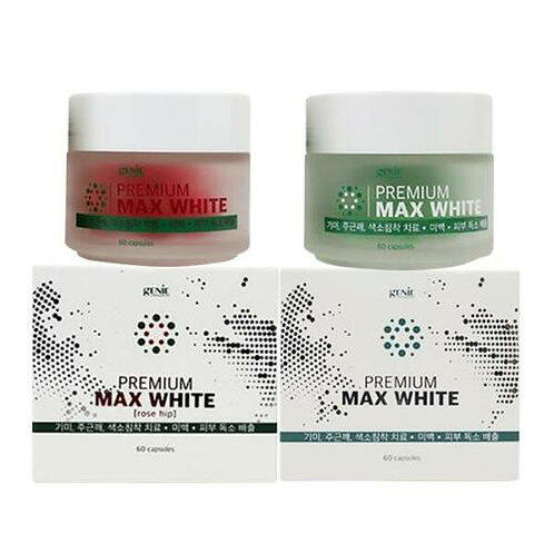 Korea Genie Max White _ Premium Skin Whitening Dark Spot Treatment Capsules