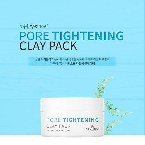 THE SKIN HOUSE - Pore Tightening Clay Pack 100ml