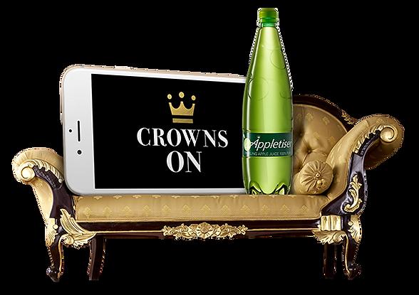 Appletiser Crown On Image