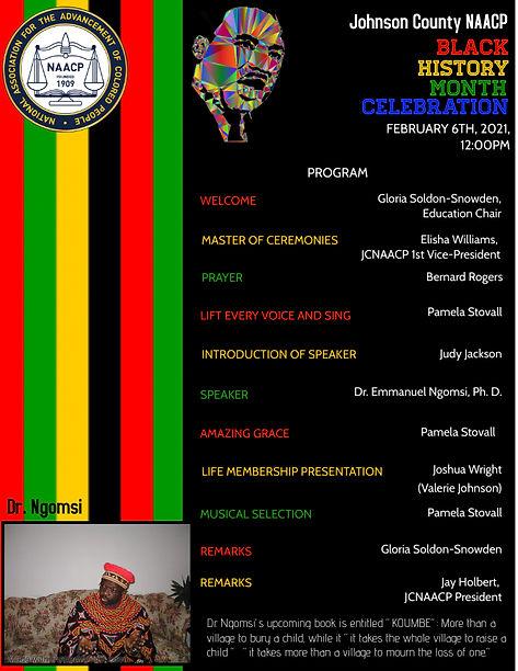 2.4.21 Black History Month 2021 Program.