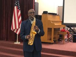 Rev. Willie Thornton, Saxophonist