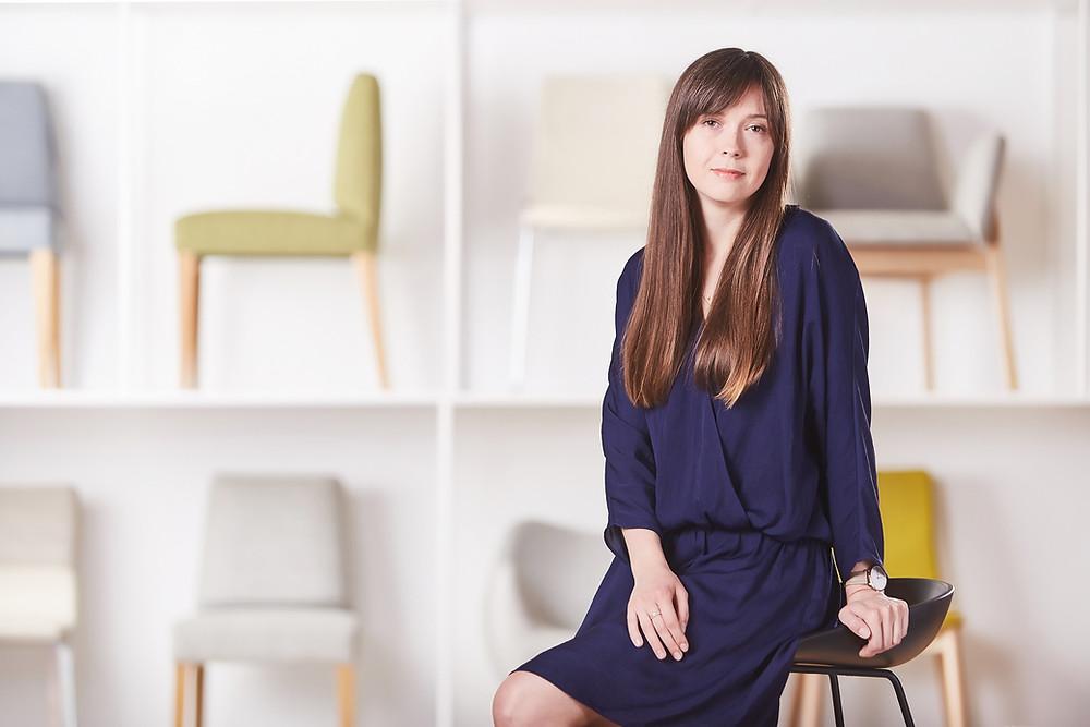 Agnieszka Grajek - projektantka i home stagerka w firmie Better Home