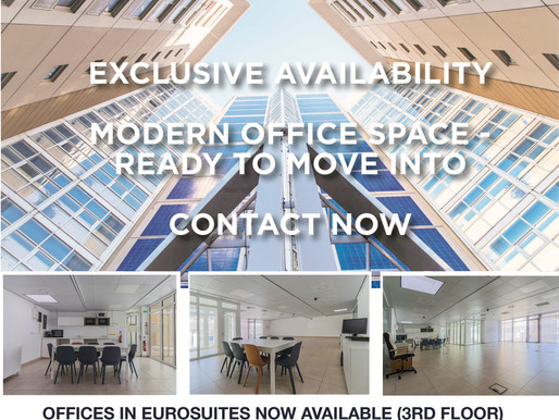 Office In Eurosuites Available For Rent! (127m2)