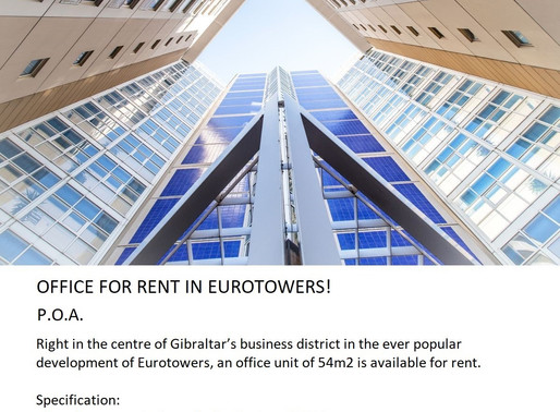Office For Rent In Eurotowers!