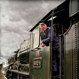 Tom Rees. One of the characters on the railway!