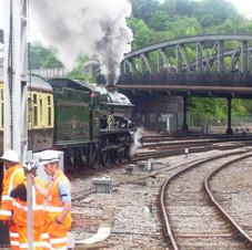 Leaving Bristol on Torbay Express