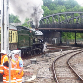 Leaving Bristol with the Torbay Express