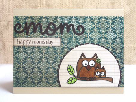 Mom Owls Card