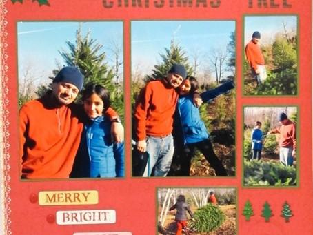 Scrapbook Sunday: Oh Christmas Tree