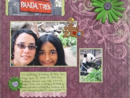 Scrapbook Sunday: San Diego Pandas