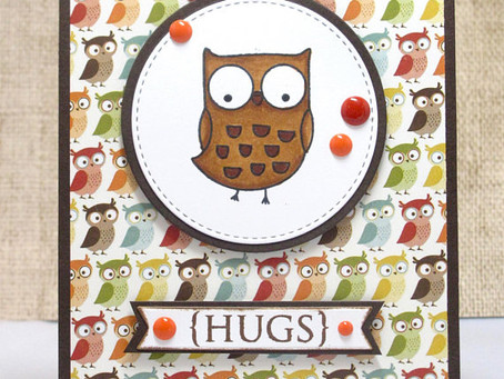 Owl Hugs Card