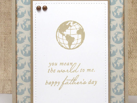World To Me Dad Card