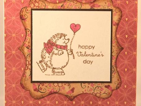 Valentines Day Hedgehog