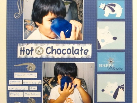 Scrapbook Sunday: Hot Chocolate