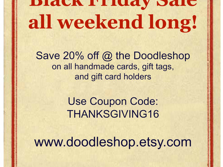 Thanksgiving Coupon Code!