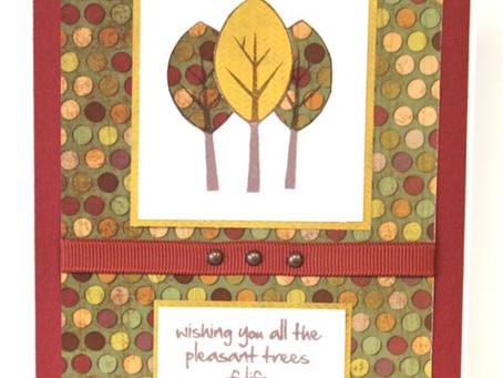 Fall Pleasant Trees