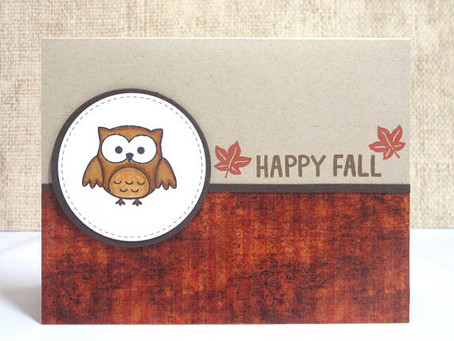 Happy Fall Owl