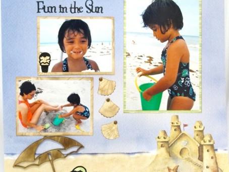 Scrapbook Sunday: Fun in the Sun