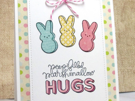 Peeps-filled Hugs Card