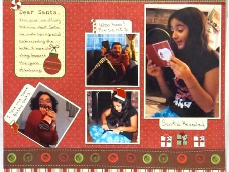 Scrapbook Sunday: Dear Santa 2012
