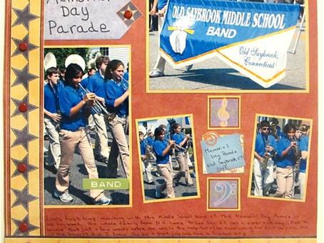 Scrapbook Sunday: Memorial Day Parade 2012