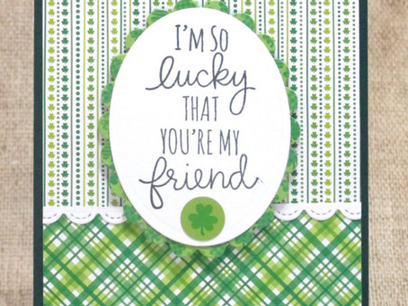 Lucky Friend Card