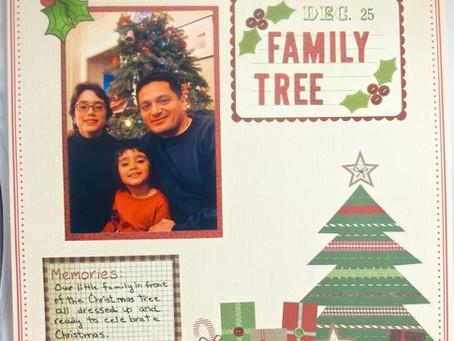Scrapbook Sunday: Family Tree