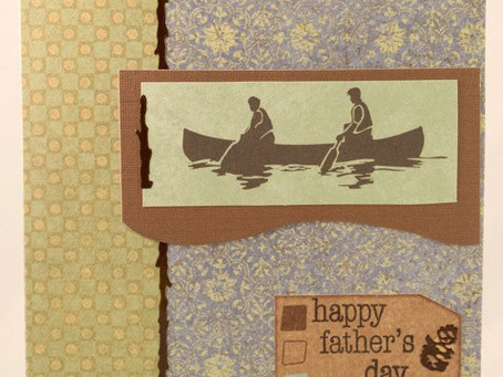 Father's Day Canoe Card