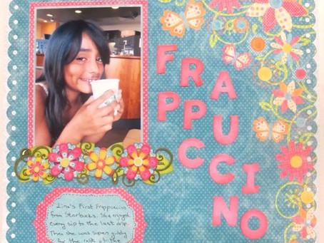 Scrapbook Sunday: Frappuccino!