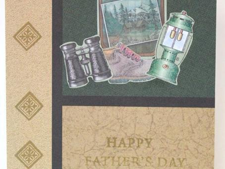 Outdoorsy Dad Card