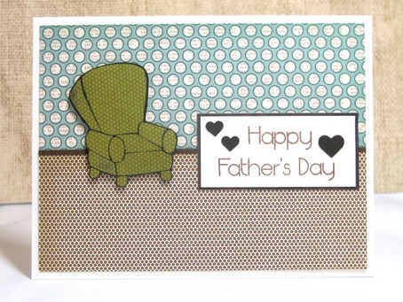 Easy Chair Father's Day Card