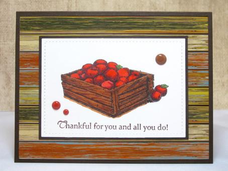 Thankful Apples Card