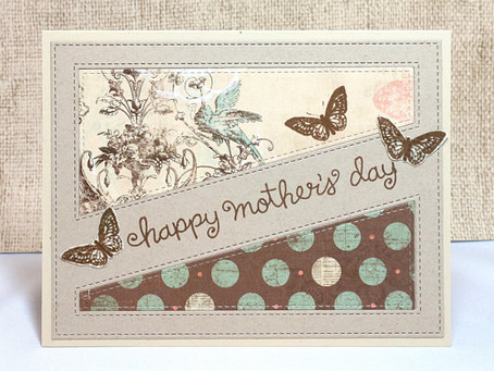 Mother's Day Butterflies Card