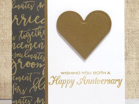 Couple's Anniversary Card