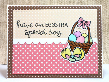 Eggstra Special Day Card