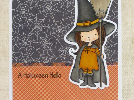 Halloween Hello Card