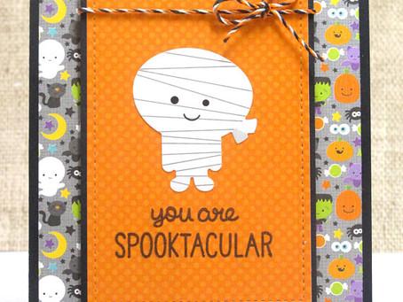 Spooktacular Mummy Card