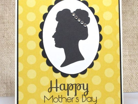 Silhouette Mother's Day Card