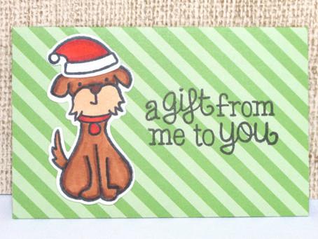 Puppy Gift Card Holder