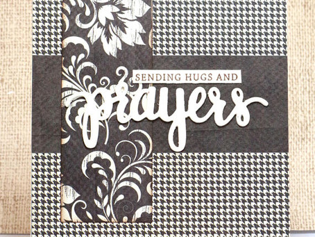 Sending Prayers Card