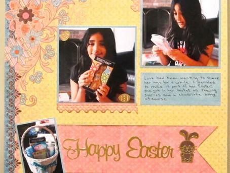 Scrapbook Sunday: Happy Easter