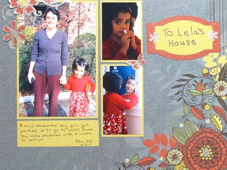 Scrapbook Sunday: To Lela's House