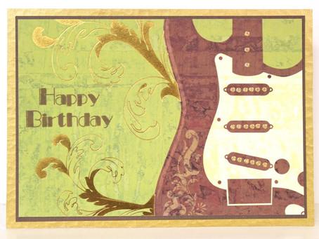 Rock 'n Roll Bday Card