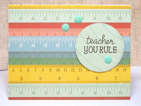 Teacher You Rule Card