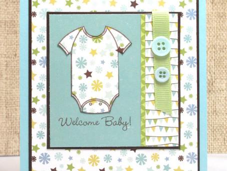 Welcome Baby Boy Onesie