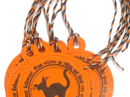 Halloween Treat Bag Tags