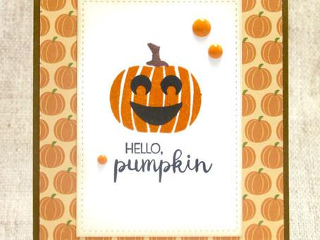 Hello Pumpkin Card