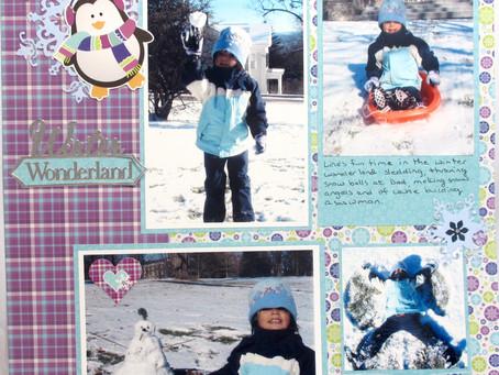Scrapbook Sunday: Winter Wonderland