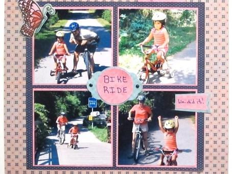 Scrapbook Sunday: Bike Ride 2004
